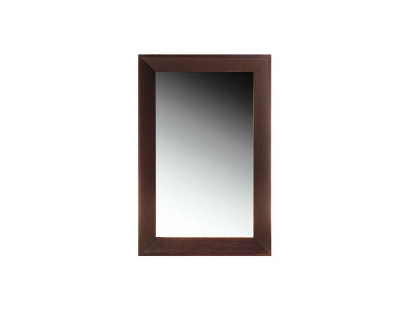 Rectangular wall-mounted framed mirror BASIC | Mirror by Ph Collection