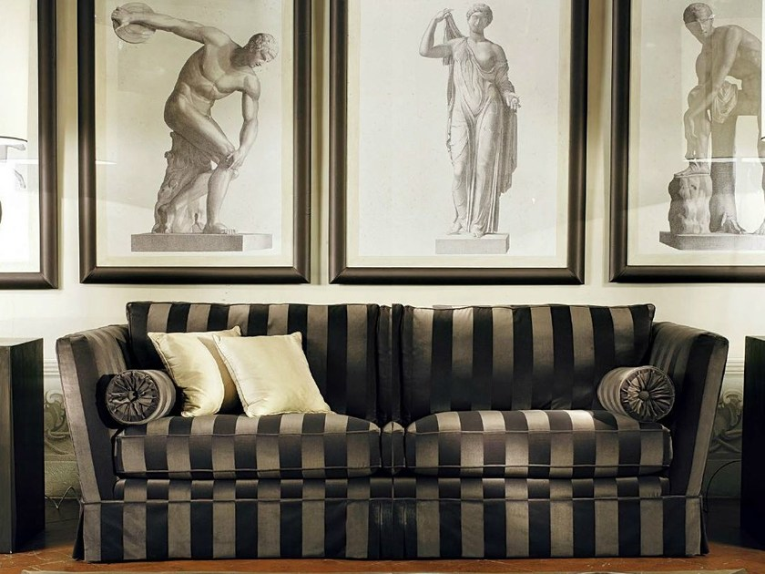 Fabric sofa AGAMENNONE by SOFTHOUSE