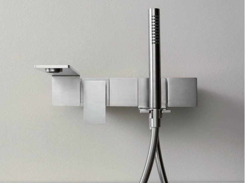 Wall-mounted bathtub tap with hand shower 5MM | Bathtub tap by Rubinetterie 3M