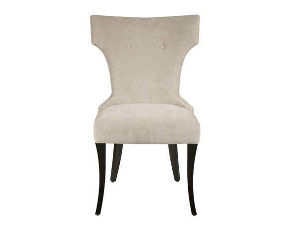 Upholstered fabric chair CATARINA by Hamilton Conte Paris