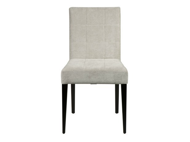 Upholstered fabric chair QUADRA by Hamilton Conte Paris
