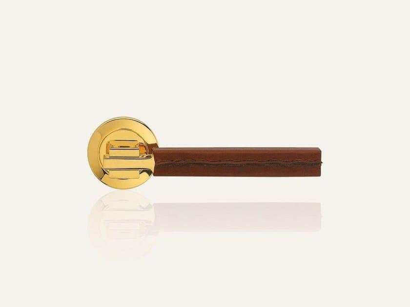 ELLE PELLE | Oro zecchino pelle marrone