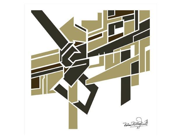 Print on paper GRAPHIC ART Nº8 by Hamilton Conte Paris