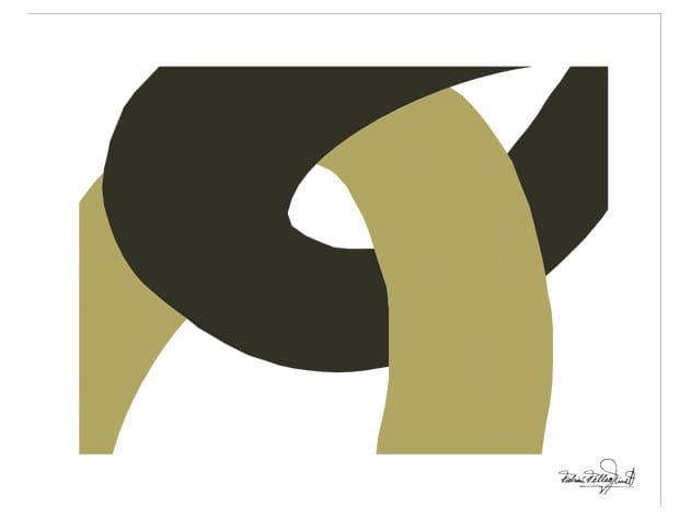 Print on paper GRAPHIC ART Nº10 by Hamilton Conte Paris
