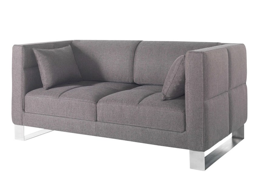 2 seater fabric sofa ROMYS   Fabric sofa by AZEA