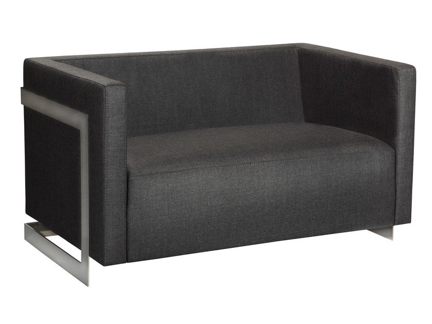 2 seater fabric sofa LOBSTER | Sofa by AZEA