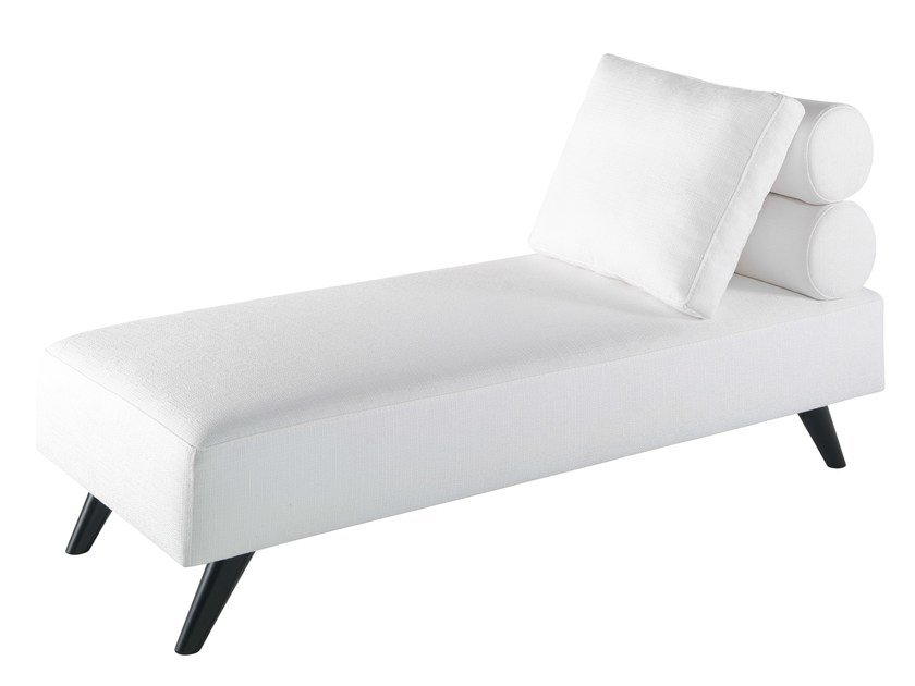Upholstered fabric day bed LUTHECYA | Fabric day bed by AZEA