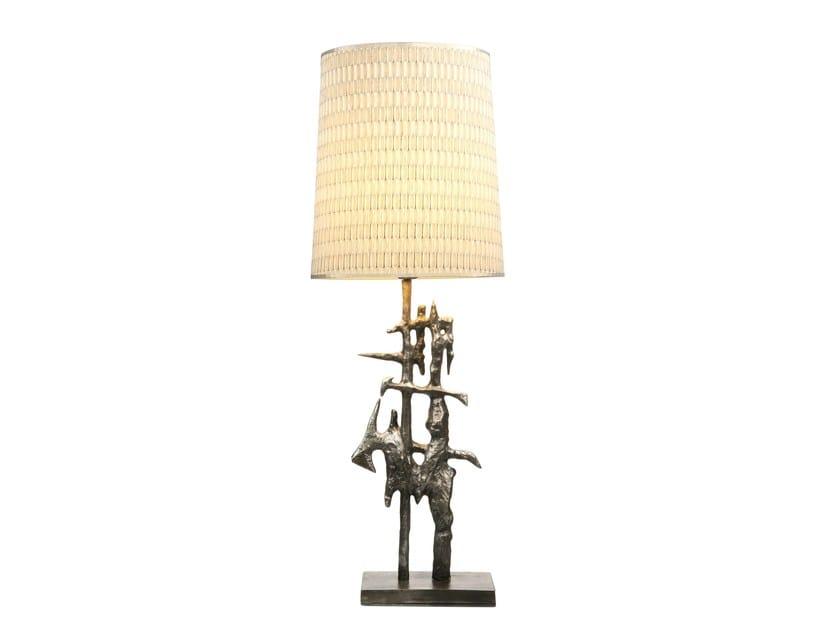 Metal table lamp CARPATHIA by Hamilton Conte Paris