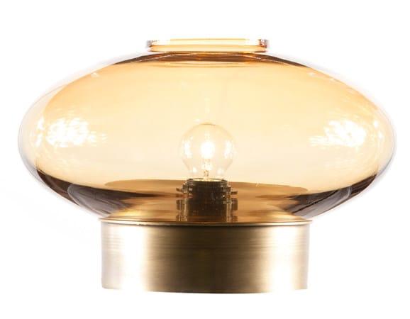 Glass table lamp TURPAN by Hamilton Conte Paris