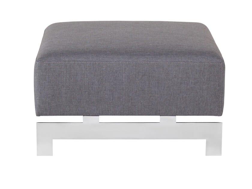 Fabric footstool YROOL | Footstool by AZEA