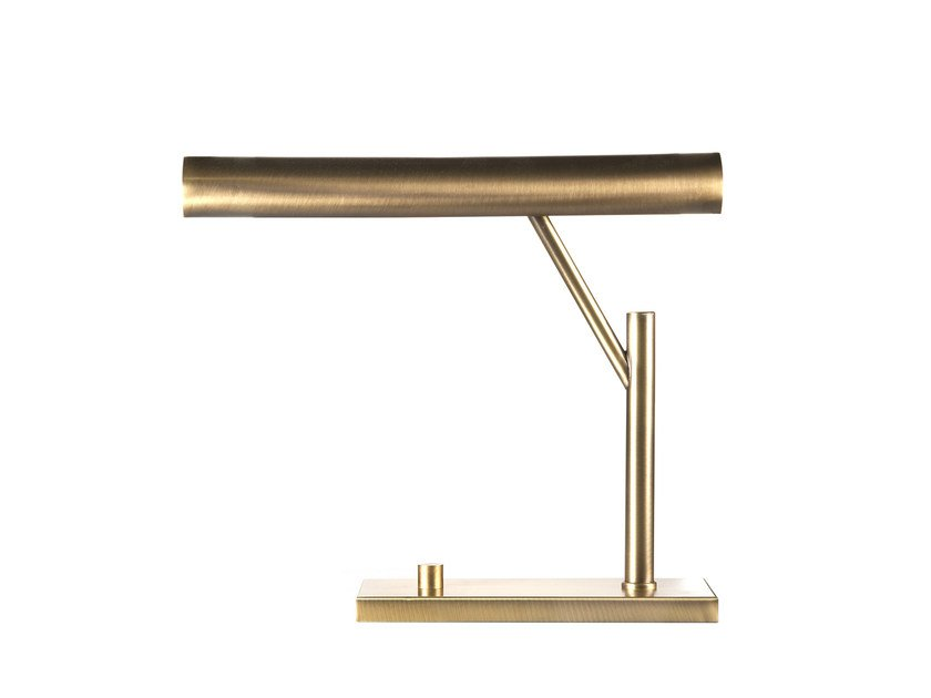 Brass table lamp THEMIS by Hamilton Conte Paris