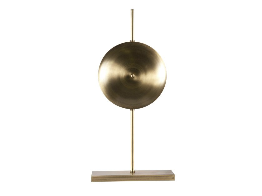 Brass table lamp ARGIA by Hamilton Conte Paris