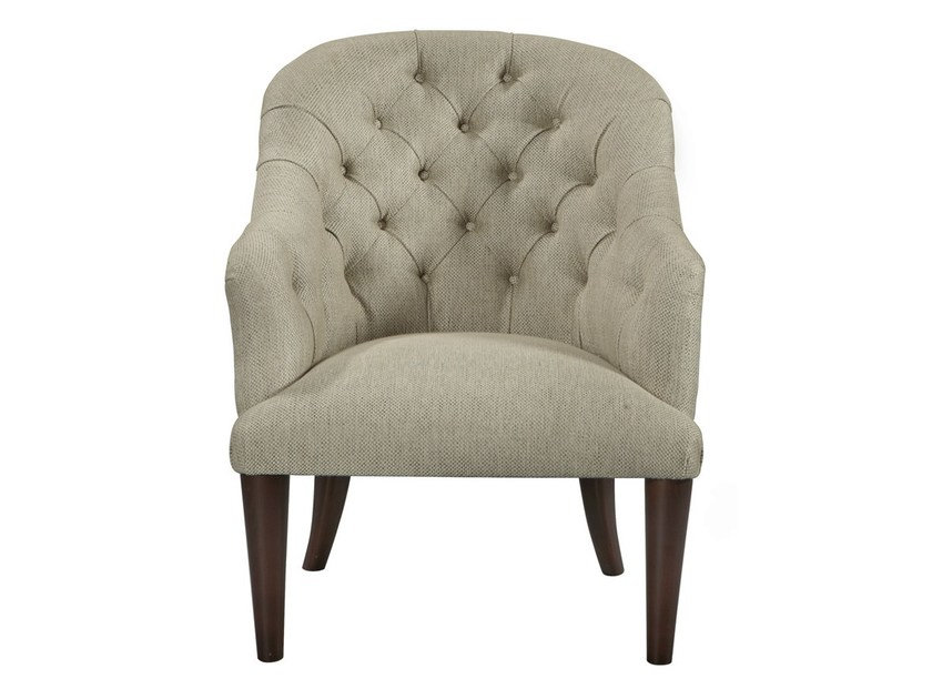 Tufted fabric easy chair RAMBO | Easy chair by AZEA