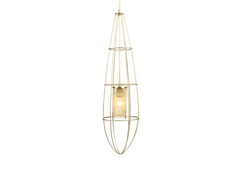 Metal pendant lamp ZEPPELIN SMALL by Hamilton Conte Paris