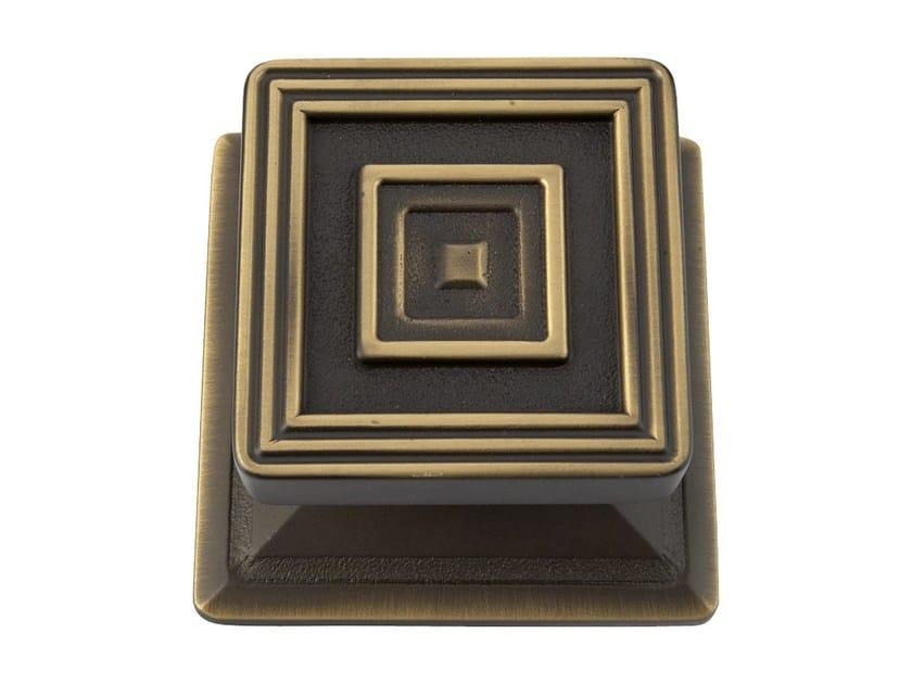 Chromed brass door knob OPERA   Door knob by LINEA CALI'