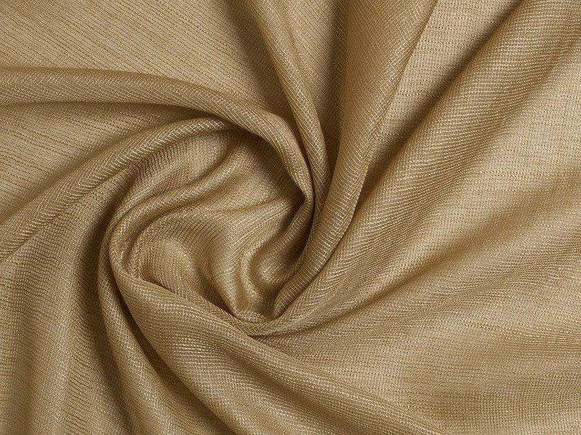 Solid-color polyester fabric for curtains CLIO by Equipo DRT