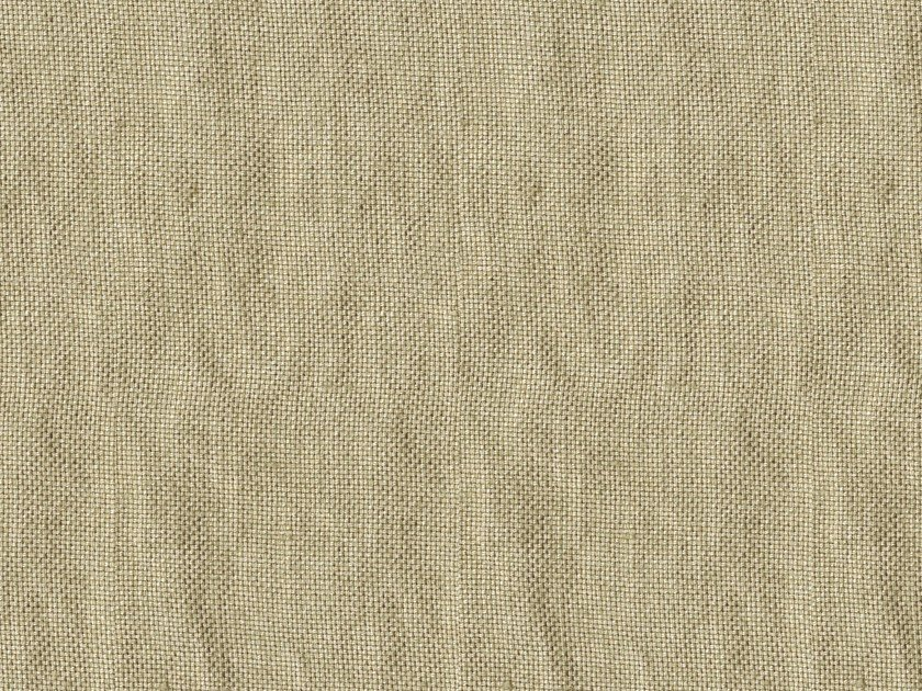 Solid-color linen fabric for curtains INDY by Equipo DRT