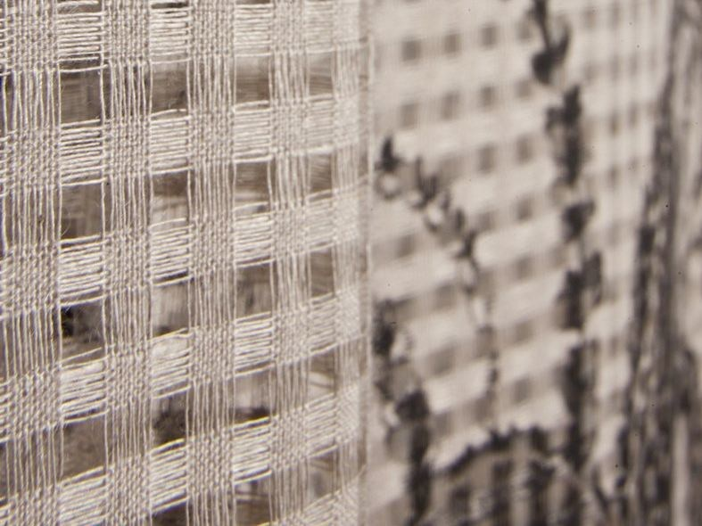 Linen fabric for curtains LAVERNIA by Equipo DRT