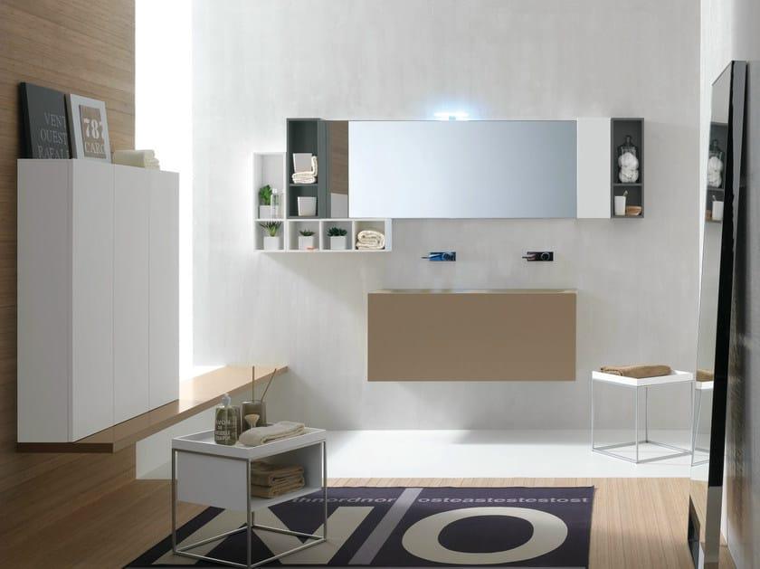 Bathroom furniture set CANESTRO - COMPOSITION C10 by NOVELLO