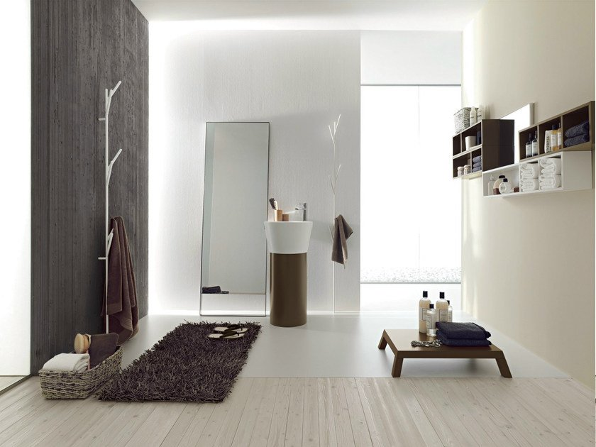 Bathroom furniture set CANESTRO - COMPOSITION C06 by NOVELLO