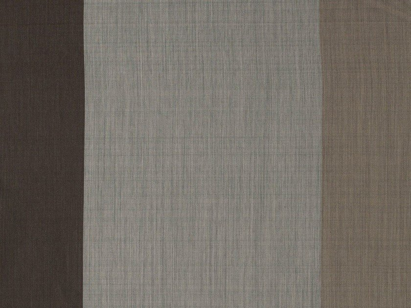 Solid-color wool fabric for curtains BRADFORD by Equipo DRT
