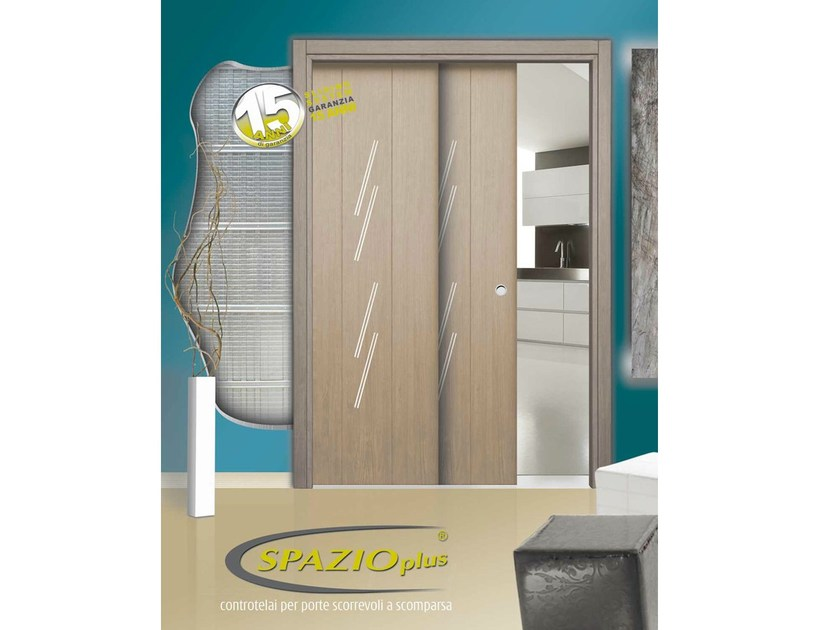 Counter frame for parallel sliding doors GRANSPAZIO by SLIDING SYSTEM