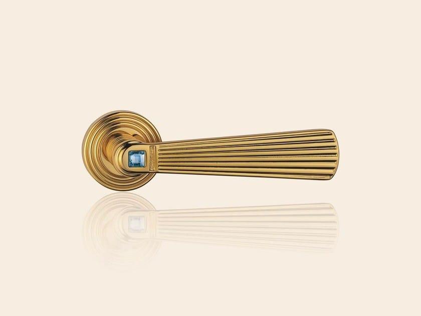 OPERA CRYSTAL | Oro zecchino swarovski azzurro