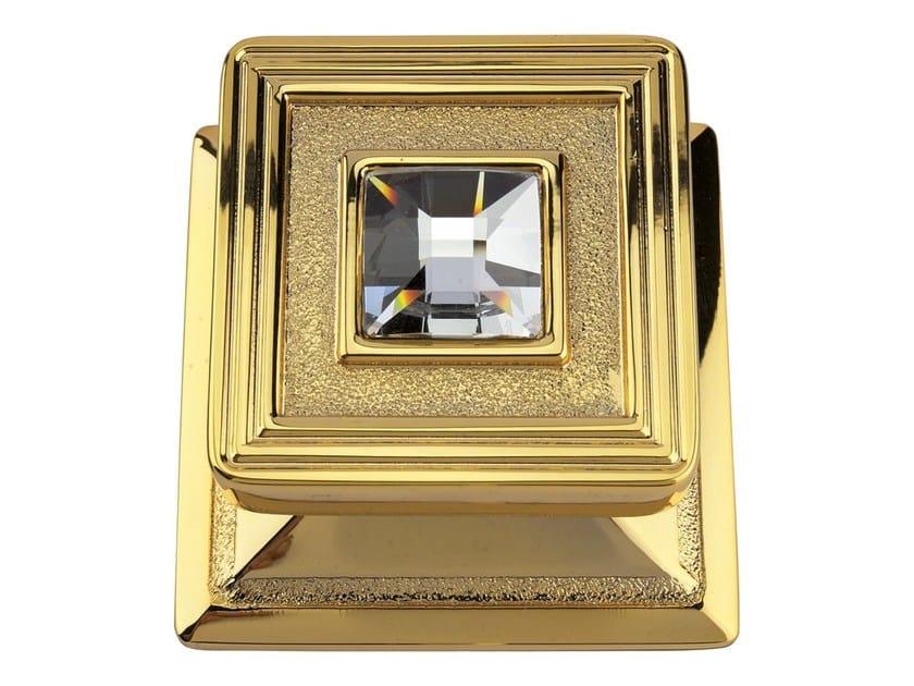 Chromed brass door knob OPERA CRYSTAL   Door knob by LINEA CALI'