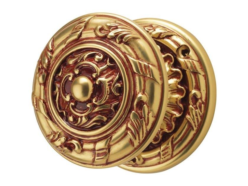 Chromed brass door knob ROCOCÒ | Door knob by LINEA CALI'