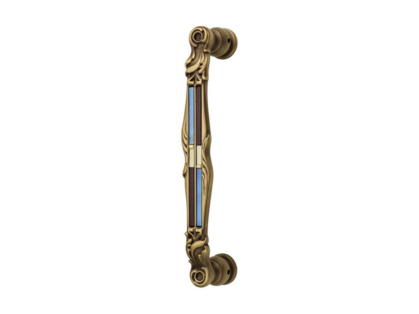 Chromed brass pull handle TIFFANY VETRO | Pull handle by LINEA CALI'