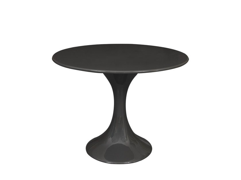 Round Resin Dining Table Ines By Hamilton Conte Paris