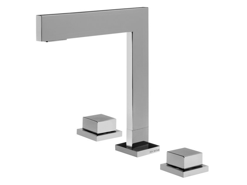 3 hole countertop washbasin tap HITO CINQUANTUNO | 3 hole washbasin tap by GEDA
