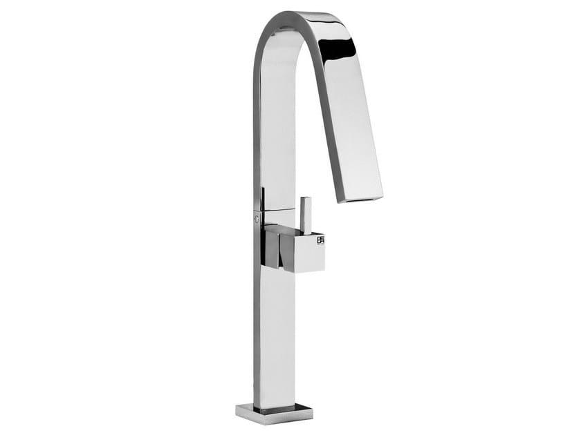 Single handle 1 hole washbasin mixer HITO QUARANTUNO | Single handle washbasin mixer by GEDA