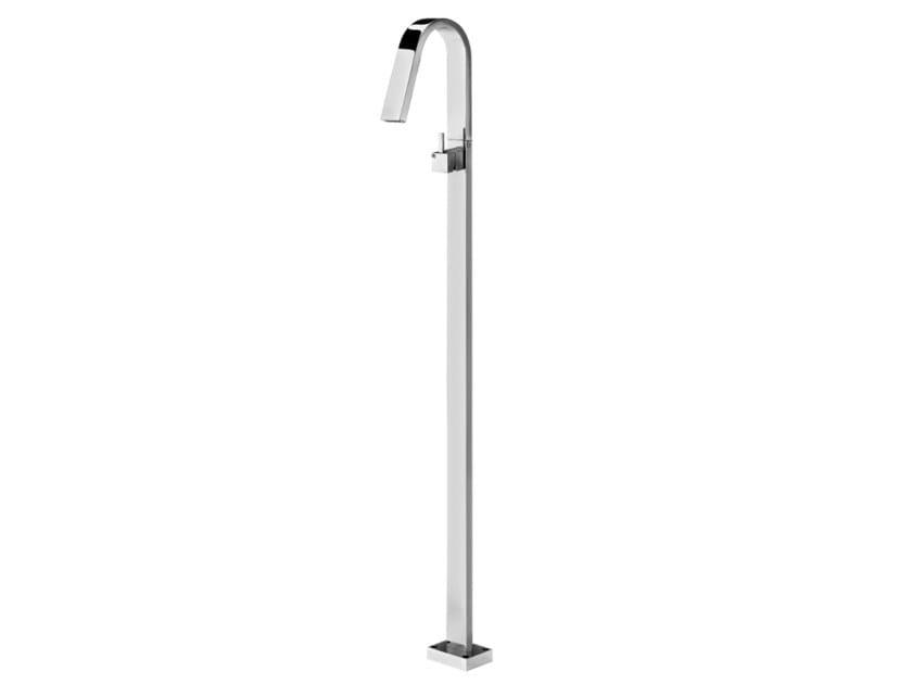 Floor standing single handle washbasin mixer HITO QUARANTUNO | Floor standing washbasin mixer by GEDA