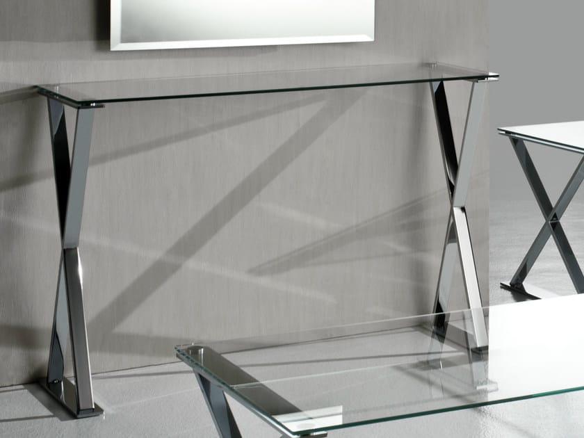Rectangular console table ICS   Console table by F.lli Orsenigo