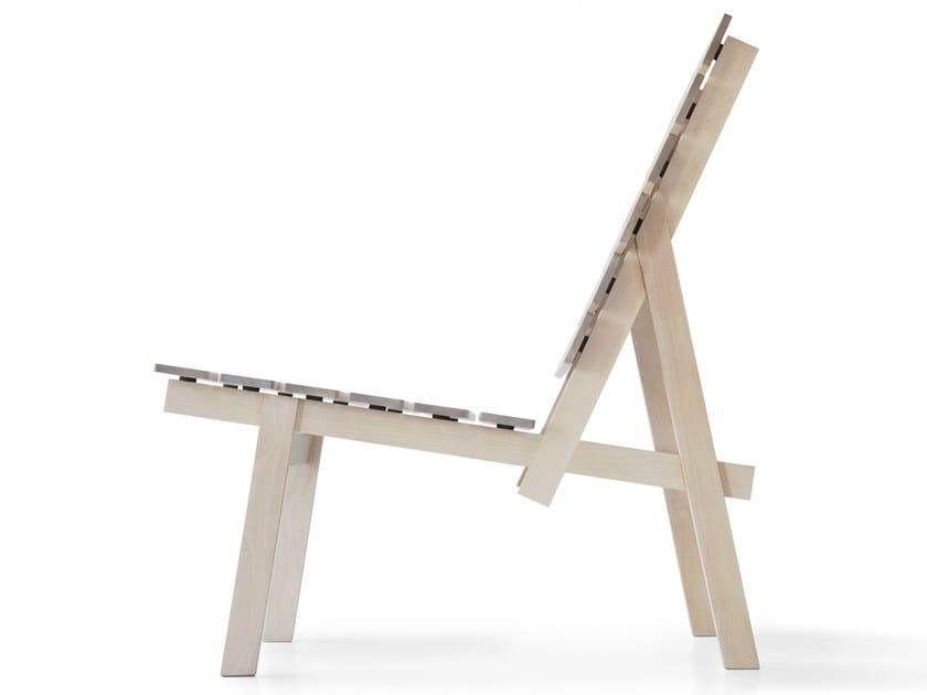 Birch easy chair MAY by Nikari