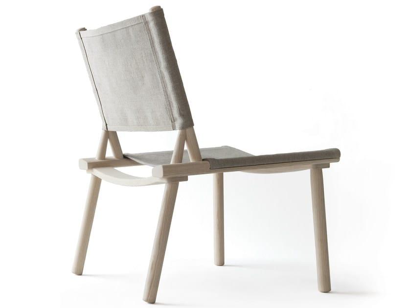 Canvas easy chair DECEMBER | Easy chair by Nikari