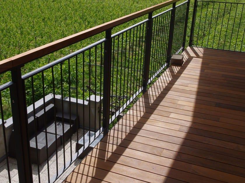 Window railing Balustrade by Interbau