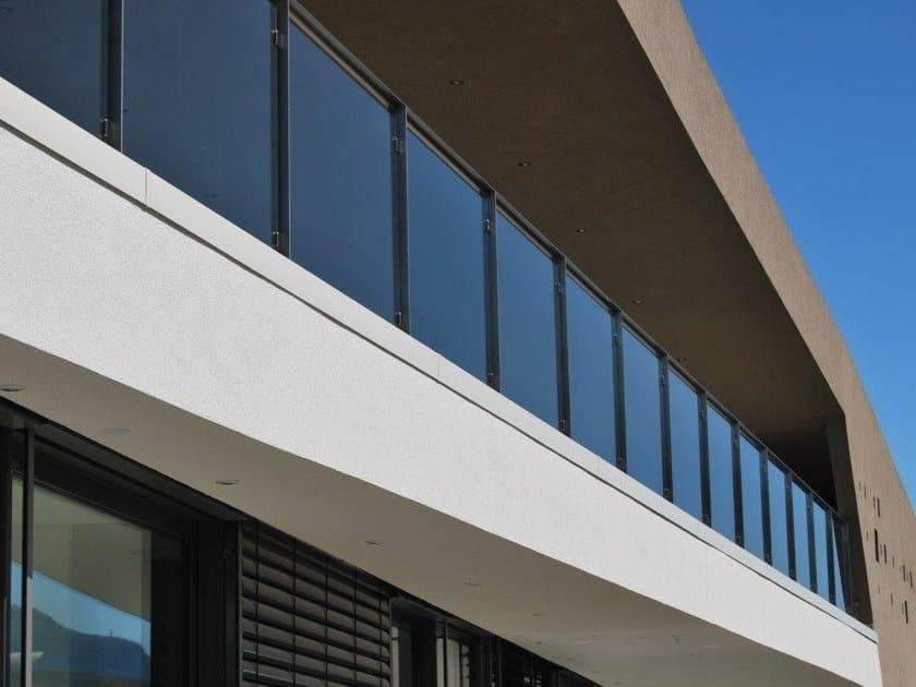 Glass Window railing Glass balustrade by Interbau
