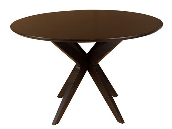 Tavolo Da Pranzo Rotondo : Tavolo da pranzo rotondo in legno mathilda dining by hamilton