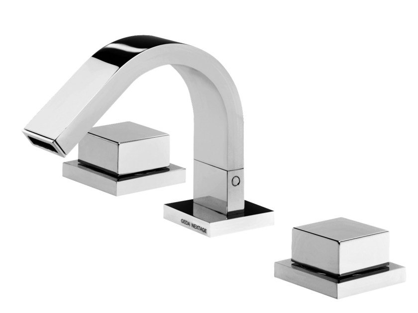 3 hole countertop bidet tap HITO QUARANTUNO | 3 hole bidet tap by GEDA