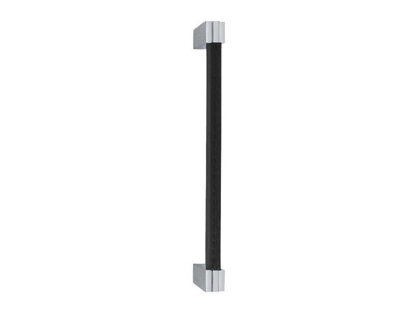 Chromed brass pull handle SLIM PELLE | Pull handle by LINEA CALI'
