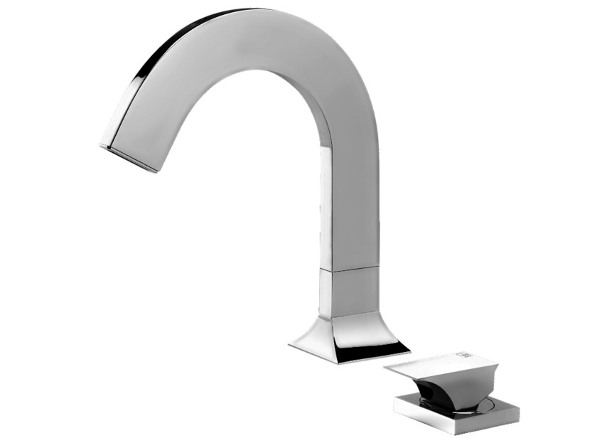 2 hole countertop washbasin mixer RAJIA | 2 hole washbasin mixer by GEDA