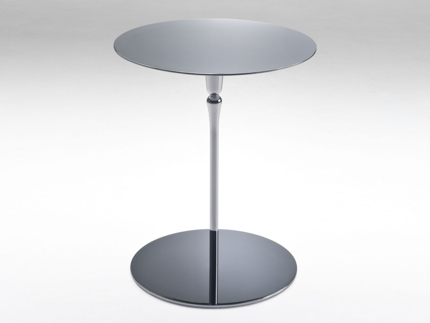 Round side table PLATE | Round coffee table by F.lli Orsenigo