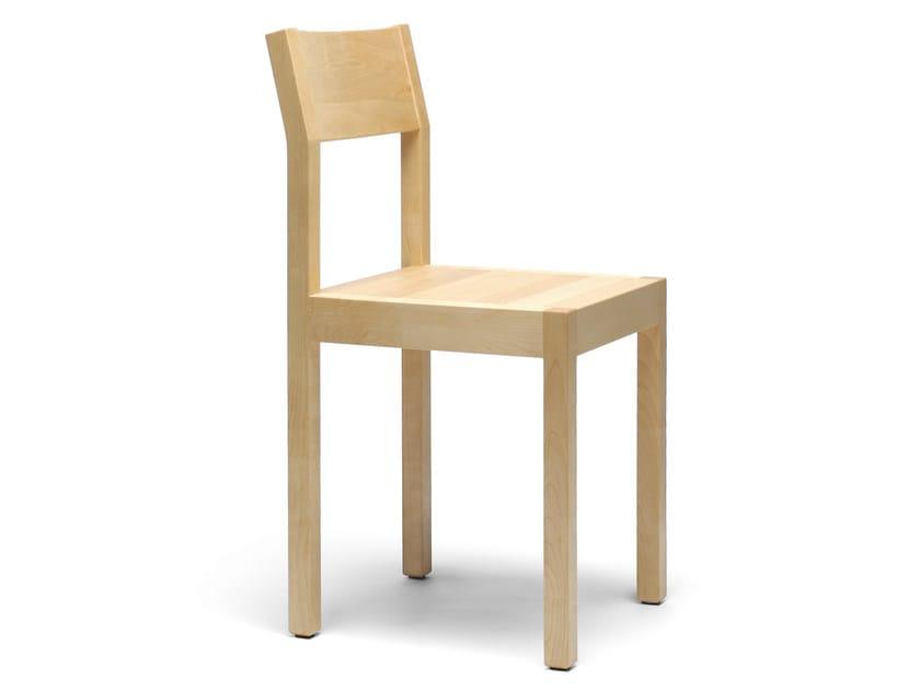 Wooden chair SEMINAR KVT1 by Nikari