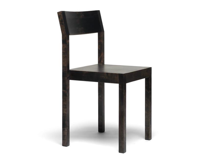 Stackable wooden chair SEMINAR KVT2SALI by Nikari