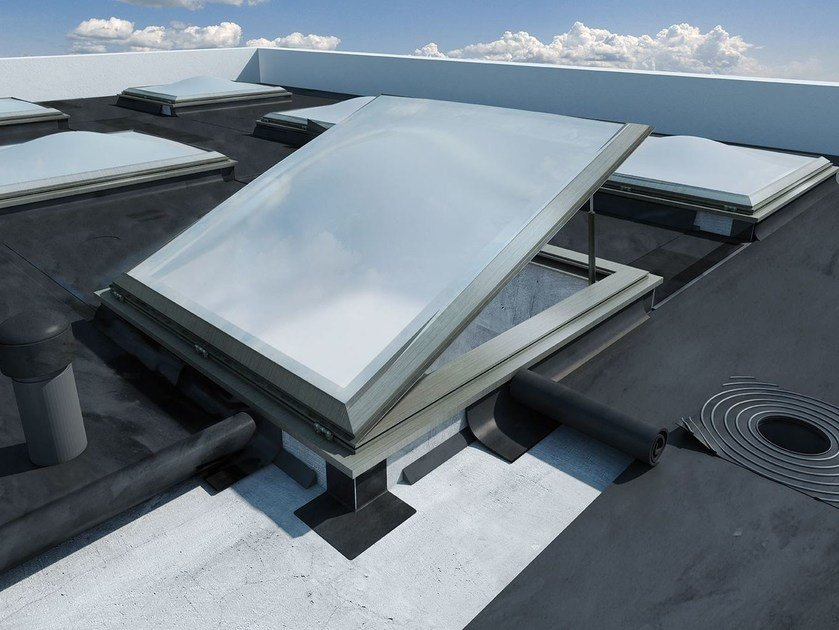 Outlet, aerator,vent EPDM rubber roof drains and extensions by ETERNO IVICA