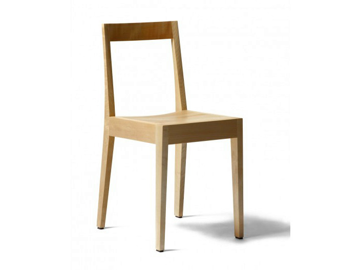 Stackable wooden chair CAFÉ SPIRAL RMS1 by Nikari