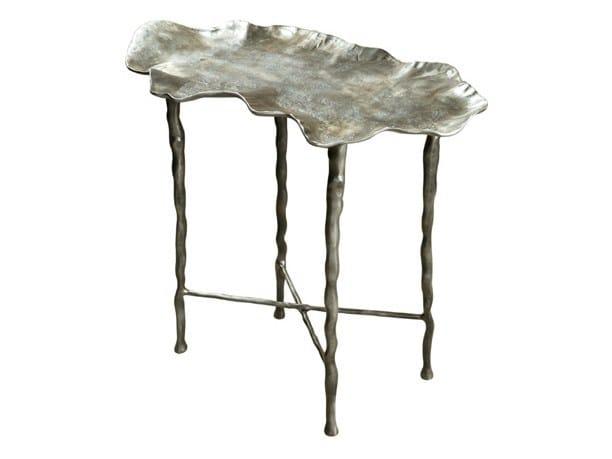 Low cast iron coffee table EVA by Hamilton Conte Paris