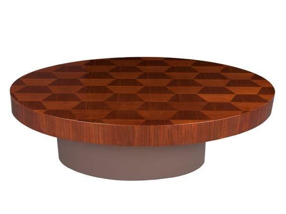 Low oval coffee table DALIAN by Hamilton Conte Paris